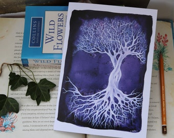Amethyst Tree Notebook