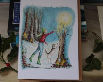 Spirited Away Christmas Card
