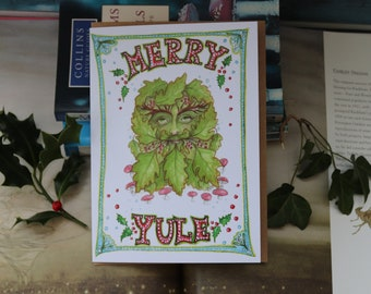 Merry Yule Christmas Card