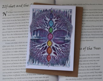 The Crystal Tree Art Card