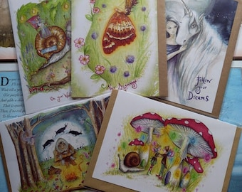 Value Card A5 Pack ~ Clearance Pack 5