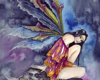 Original Watercolour Painting ~ Stormwatcher