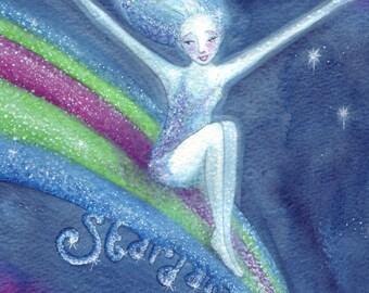 Star Dancer ~ Original Watercolour Painting