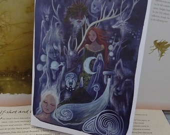 The Silver Wheel ~ A5 Notebook