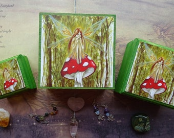 Woodland Wish ~ Jewellery Box set ~ Set of 3 Stackable Boxes