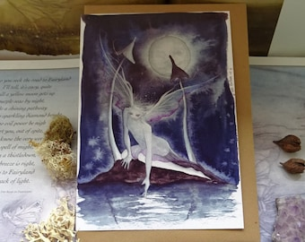 Moonlight Wish Art Card