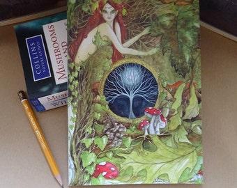 The Green Goddess ~ A5 Notebook