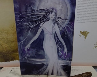 Moon Goddess ~ A5 Notebook