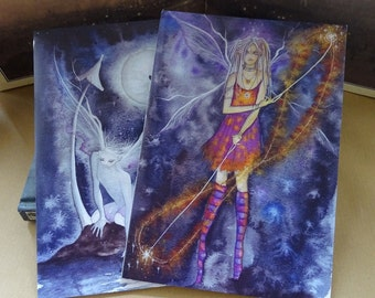 Magical night Fairy Notebook Set