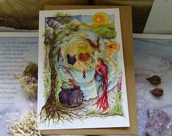 Cerridwen's Spell Art Card