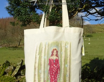 Brighid's Wood ~ Tote Bag