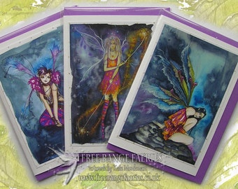 Fab Fairies Card Pack ~ Pack of 3