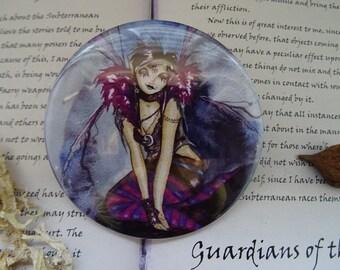 Roxy Purpletoes! Pocket Mirror