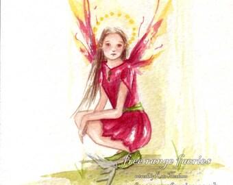 'Bright Blessings' Original Watercolour painting
