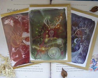 Celtic Goddess ~ 3 Card Pack