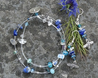 Blue Honey Jewellery Set
