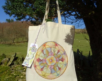 Lifeline Mandala ~ Tote Bag