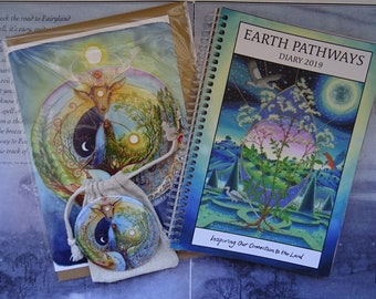 Earth Pathways Diary 2019 - Deer Medicine Gift Set