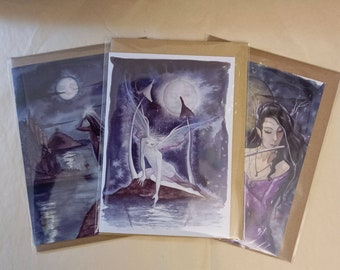 Clearance Card Pack ~ Moonlit Night