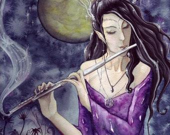 Enchanted Night A4 Art Print