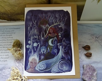 The Silver Wheel Notelet Card