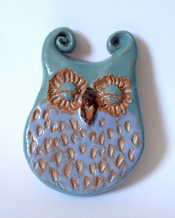 Owl Magnet - Smiling Owl