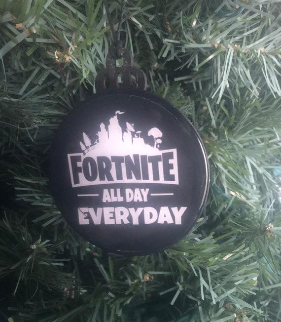Fortnite Christmas Ornament