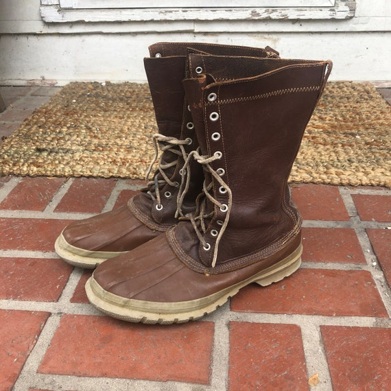 Vintage RARE 1950's Converse Boots
