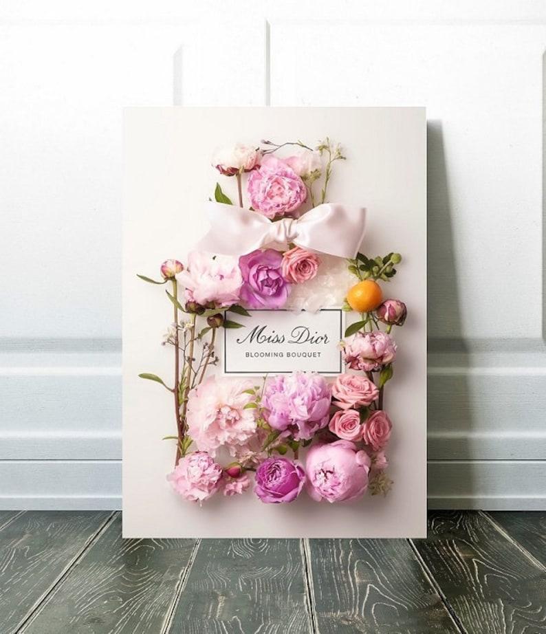 ea7aaff05 Blooming Bouquet Art / Canvas Art / Art Print / Wall Art / | Etsy