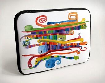 Worms - Cycling in heels - Room - Tram - Laptop Case - Laptop Bag - Laptop Sleeve