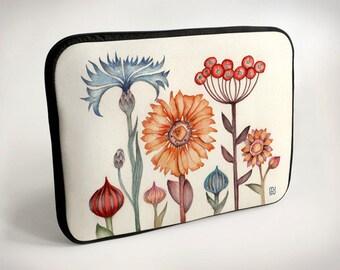 Meadow flowers - Laptop Case - Laptop Bag - Laptop Sleeve
