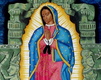 Guadalupe-Tonantzin (prints and cards)