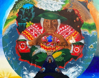 Pachamama (prints and cards)