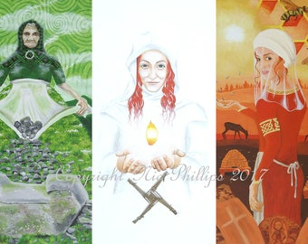 Goddesses of Ireland (prints and cards)