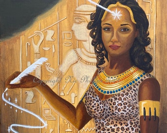 Seshat (prints and cards)