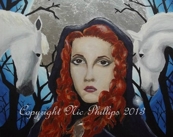 Rhiannon/Epona (prints and cards)