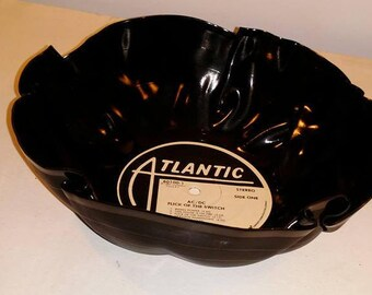 AC/DC Vinyl Record bowl fun unique gift great for chips or popcorn Free Shipping