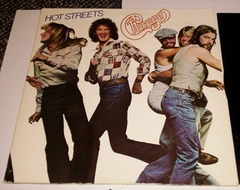 Chicago Hot Streets Record Album VG+ original 1978 Columbia Records Free Shipping