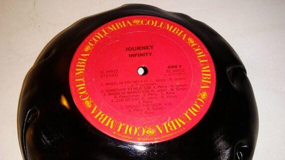 Voyage Vinyl Record bol pour Chips ou pop-corn cadeau d'amusement unique livraison gratuite