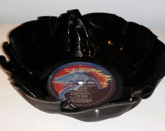 Steve Miller Band Vinyl Record Bowl fun unique gift great for chips or popcorn Free Shipping