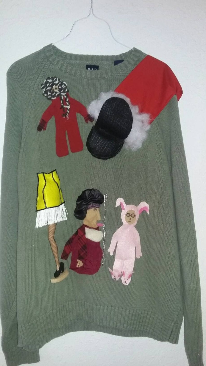 An UGLY Sweater with A Christmas Story  design image 0