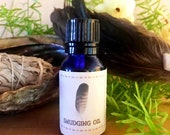 Sacred Smudging Oil - Whi...
