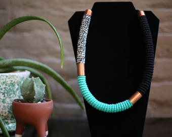 Necklaces/collars made necklace/jewelry/handmade women/ethnic necklace / rope necklaces