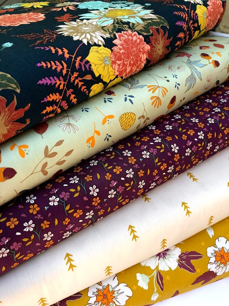 Autumn Vibes Fabric Bundle by Maureen Cracknell for Art image 0