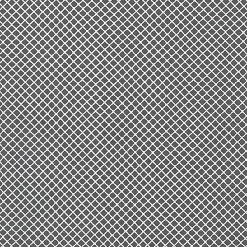 END-OF-BOLT 17x44  Grey and White Fabric  Remix image 0