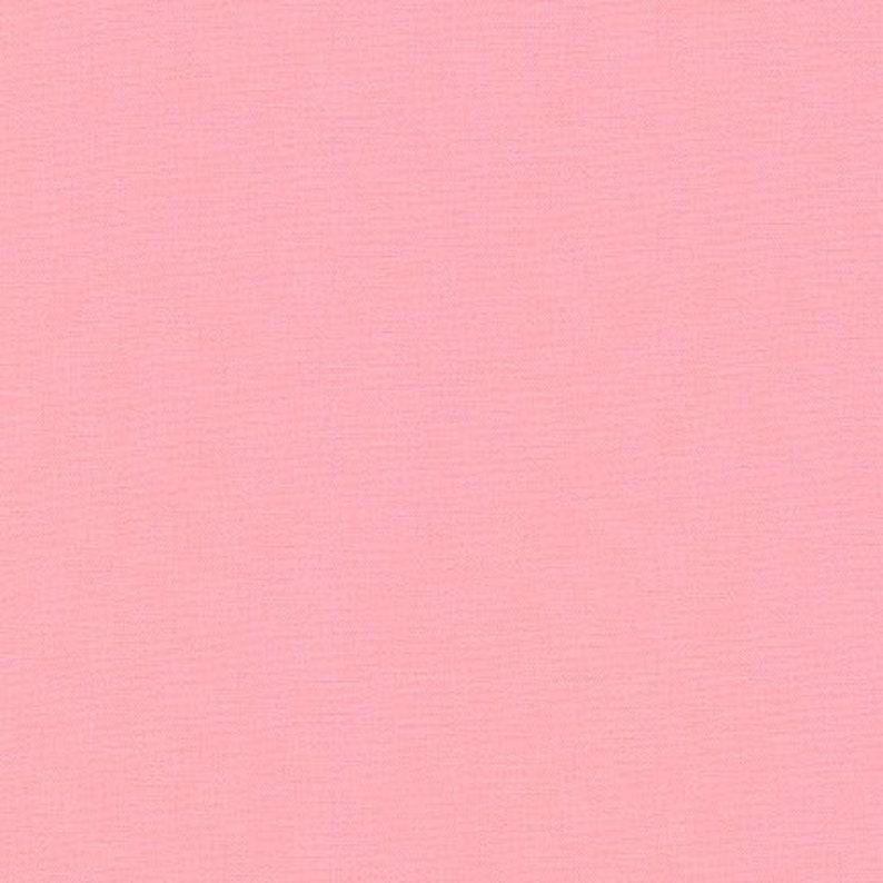 Pink Kona Solid Fabric Medium Pink by Robert image 0