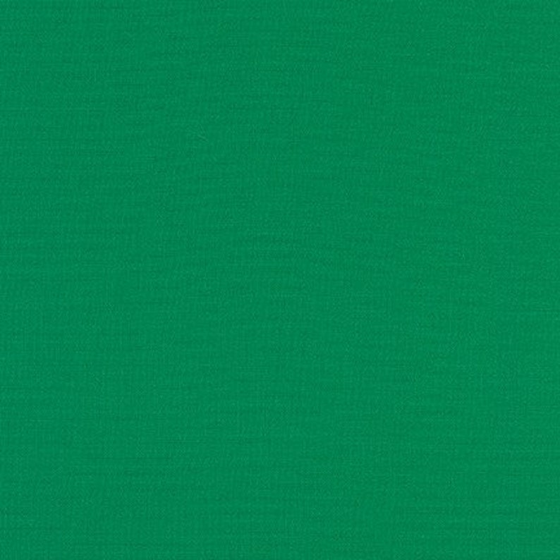 Holly Green Kona Solid Fabric Holly by Robert image 0