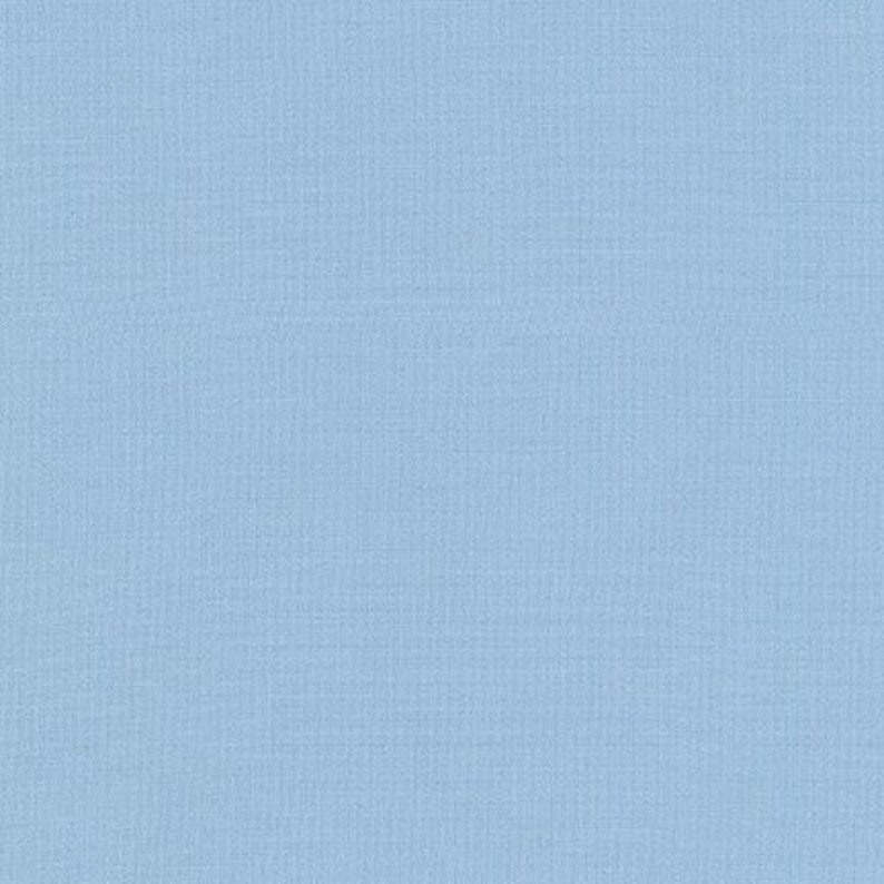 Blue Kona Solid Blue Bell Fabric by Robert image 0