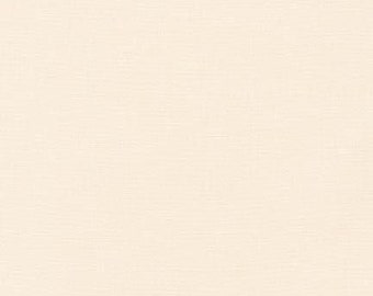 Bone Kona Solid Fabric by Robert Kaufman. 100% cotton. Kona Cotton. Cream / Light Beige Solid Fabric. K001-1037