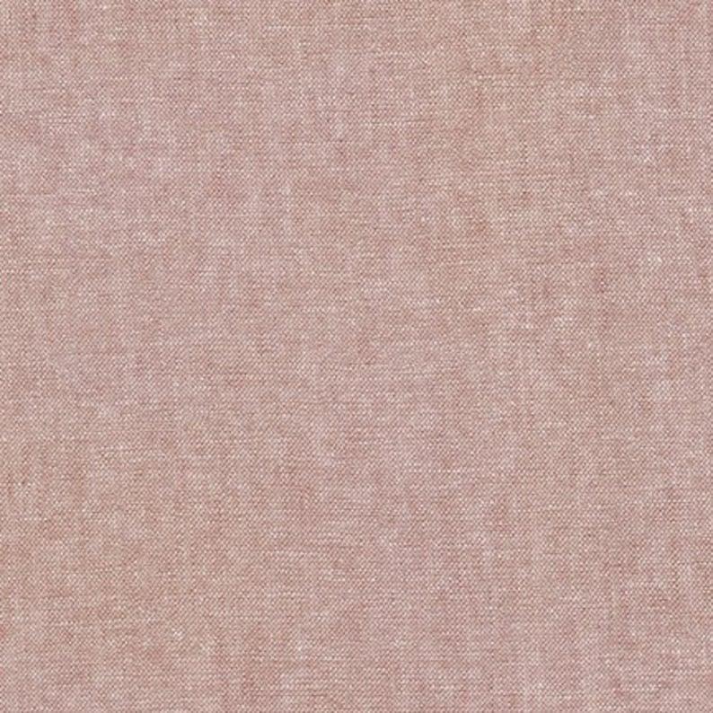 5545/% LinenCotton E064-1237 Essex Yarn Dyed Fabric Mocha Light Brown from House of Linen by Robert Kaufman END-OF-BOLT 22X44
